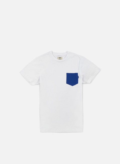 t shirt vans mono pocket t shirt nautical blue