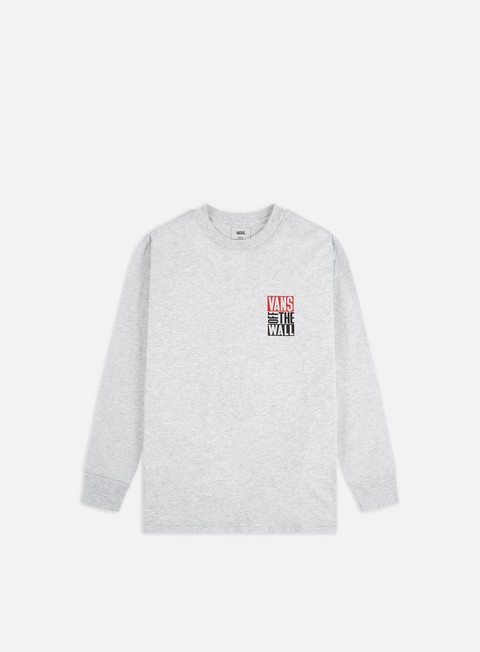 Outlet e Saldi T-shirt a Manica Lunga Vans New Stax LS T-shirt