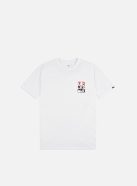 Sale Outlet Short Sleeve T-shirts Vans New Stax T-shirt
