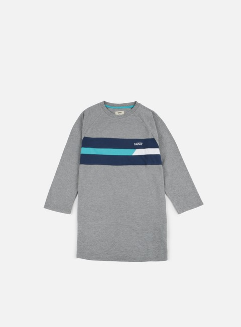t shirt vans ninety three raglan t shirt cement heather