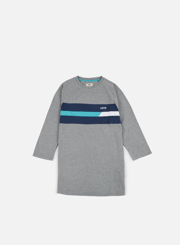 Vans - Ninety Three Raglan T-shirt, Cement Heather
