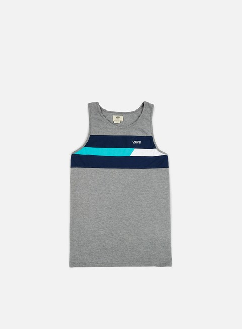 t shirt vans ninety three tank top cement heather