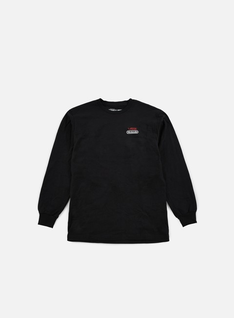 Long Sleeve T-shirts Vans Nintendo LS T-shirt