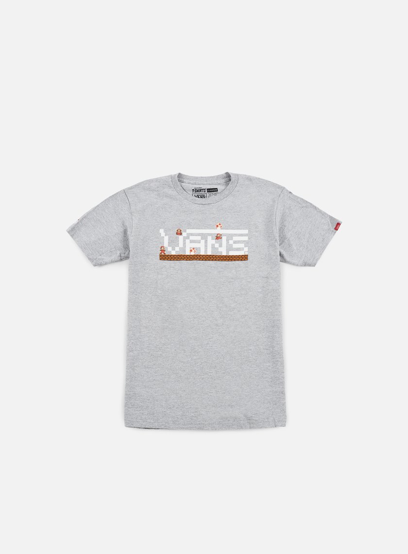 Vans - Nintendo T-shirt, Athletic Heather