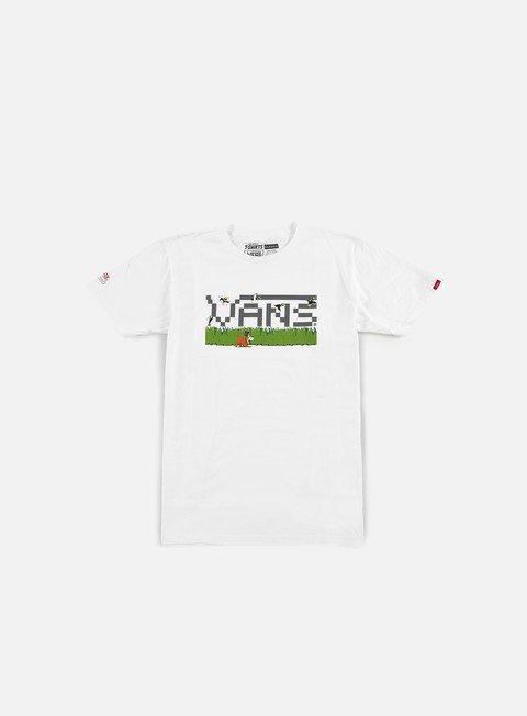 Sale Outlet Short Sleeve T-shirts Vans Nintendo T-shirt