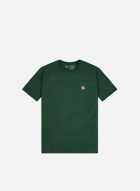T-shirt a Manica Corta Vans Off The Wall Classic Circle V T-shirt
