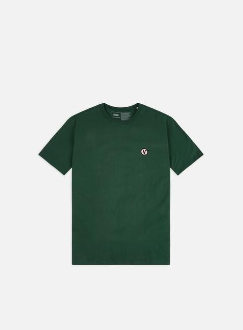 Outlet e Saldi T-shirt a Manica Corta Vans Off The Wall Classic Circle V T-shirt