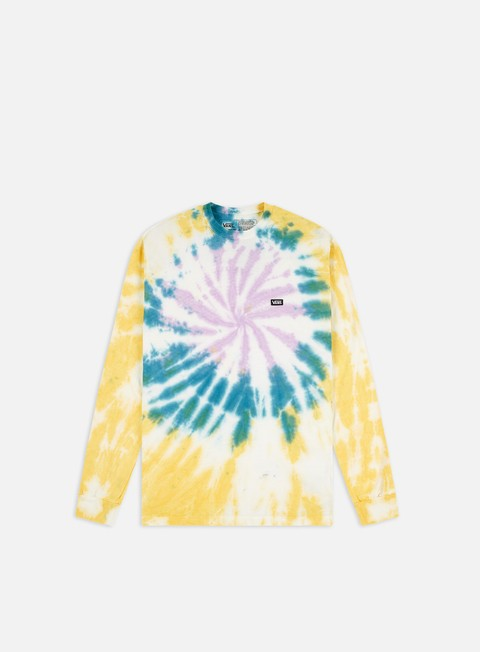 Long Sleeve T-shirts Vans Off The Wall Classic Spiral Tie Dye LS T-shirt
