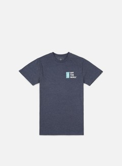 Vans - Off The Wall III T-shirt, Navy Heather/White