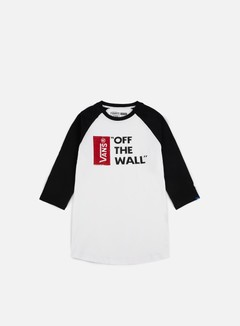 Vans - Off The Wall Raglan T-shirt, White/Black 1