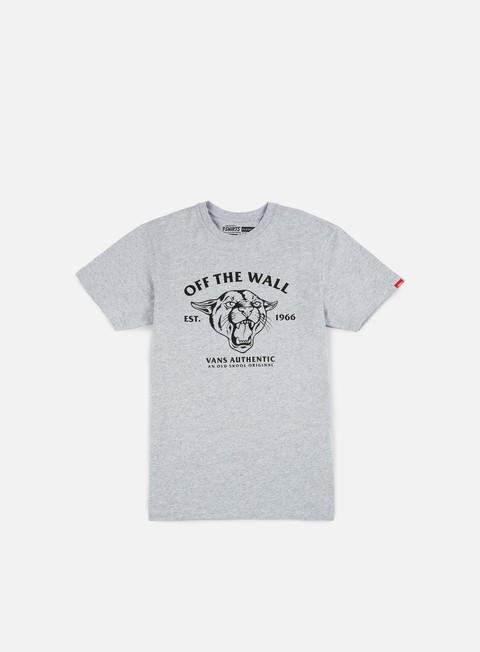 Sale Outlet Short Sleeve T-shirts Vans Old Skool Cougar T-shirt