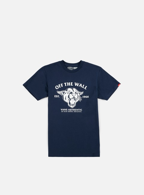 t shirt vans old skool cougar t shirt navy