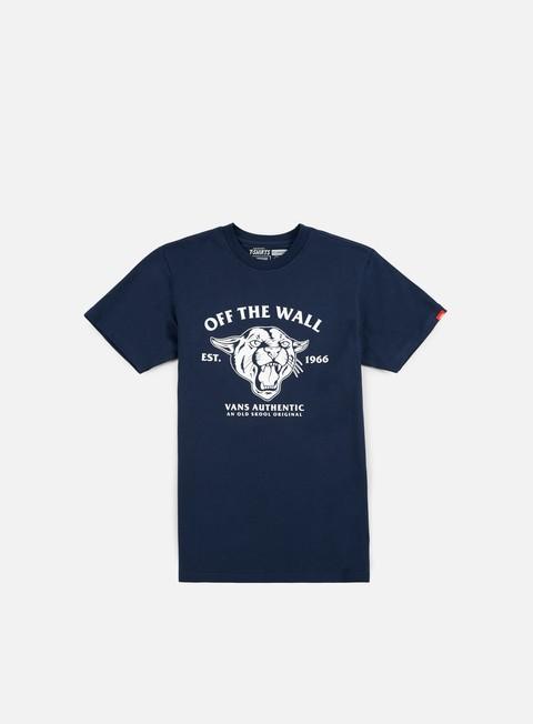 Outlet e Saldi T-shirt a Manica Corta Vans Old Skool Cougar T-shirt