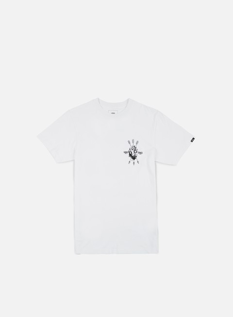 t shirt vans open heart t shirt white