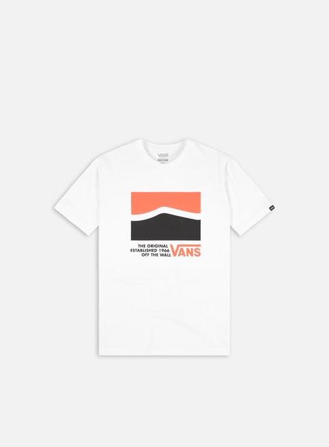 Outlet e Saldi T-shirt a manica corta Vans Original DNA Sidestripe T-shirt