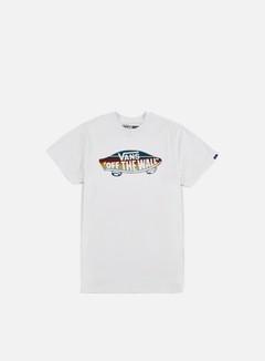 Vans - OTW Fill Logo T-shirt, White/Blue Mirage/Rockway Stripe 1