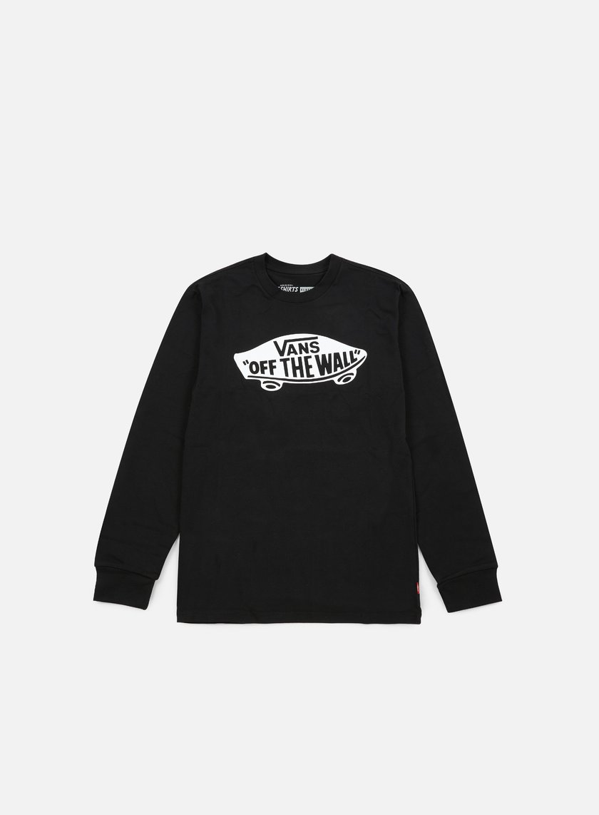 Vans - OTW LS T-shirt, Black/White