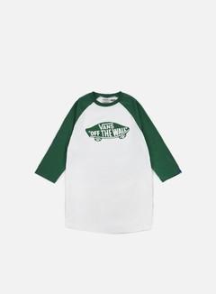 Vans - OTW Mono Raglan T-shirt, White/Verdant Green 1