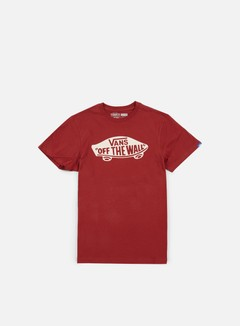 Vans - OTW T-shirt, Red Dahlia/Bright White