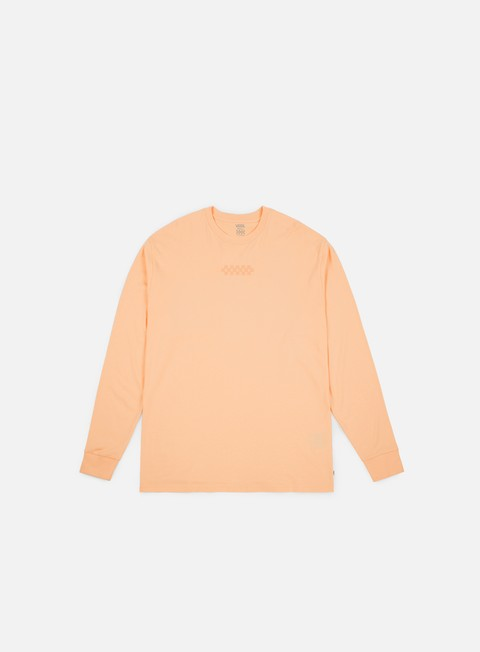 t shirt vans overtime out ls t shirt bleached apricot