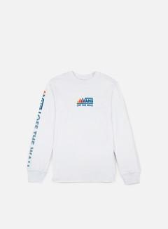 Vans - Peaks Camp LS T-shirt, White