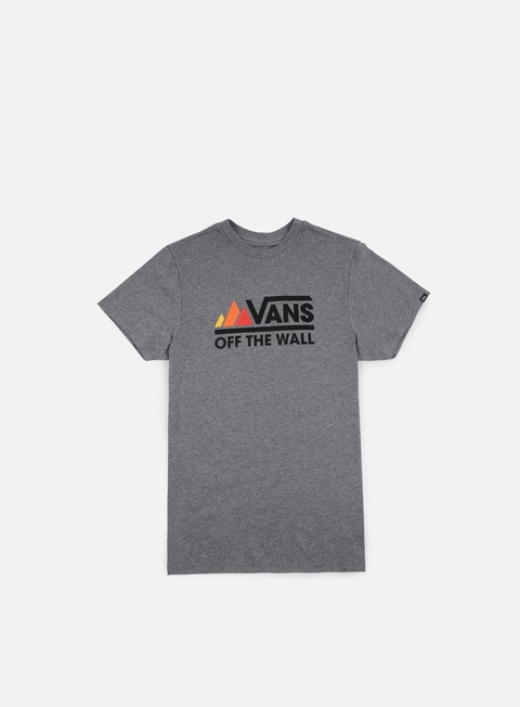 Outlet e Saldi T-shirt a Manica Corta Vans Peaks Camp T-shirt