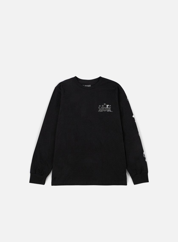 Vans - Peantus LS T-shirt, Black