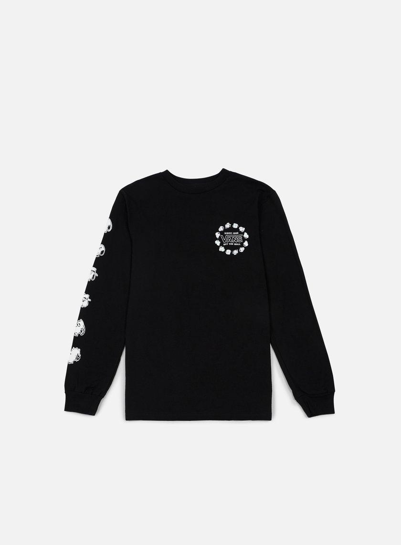 Vans - Peanuts Snoopys Brothers LS T-shirt, Black