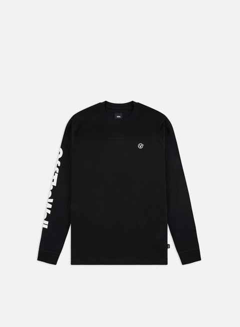 Long Sleeve T-shirts Vans Pieced Distorted LS T-shirt