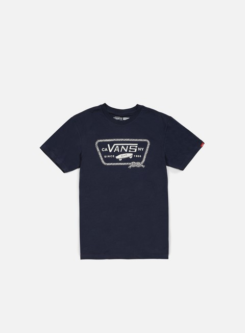 t shirt vans port patch t shirt navy