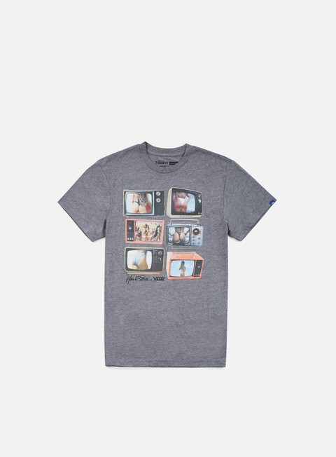 t shirt vans prime times t shirt heather grey