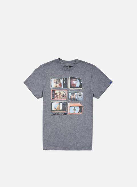 t shirt vans prime times t shirt heather grey