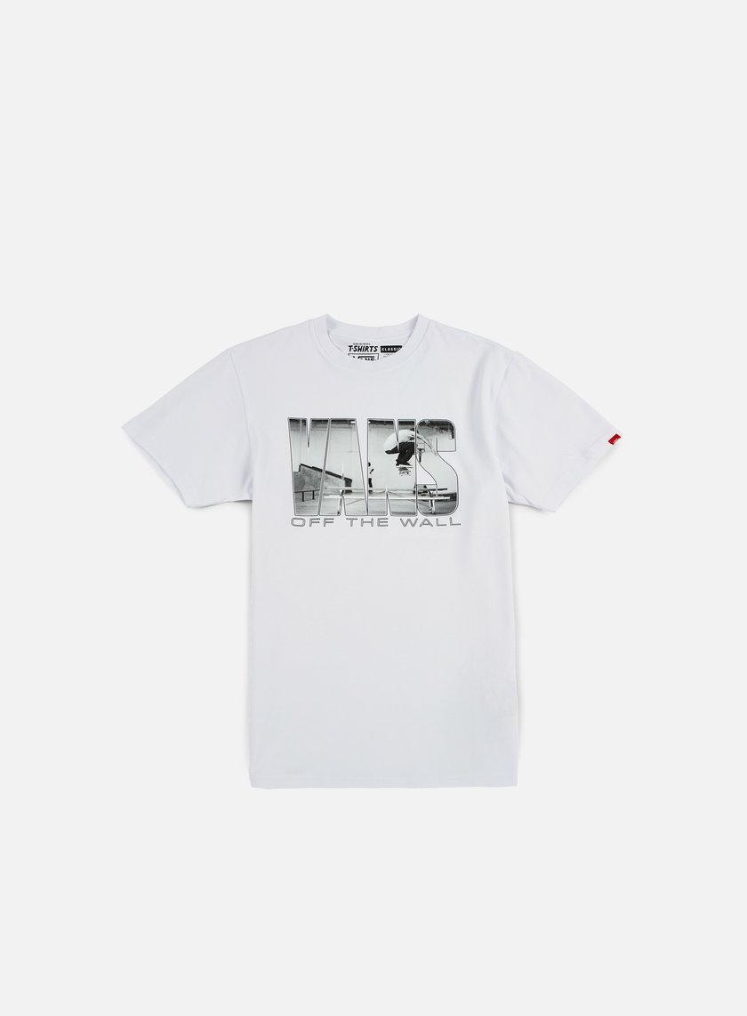 Vans - Push Through II T-shirt, White