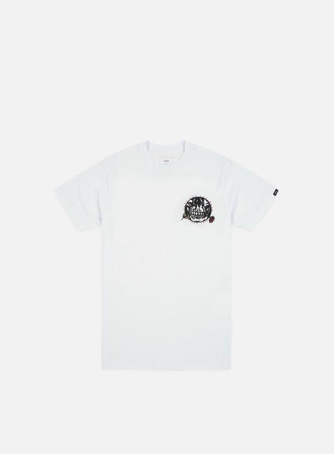 t shirt vans pushing up daisies t shirt white