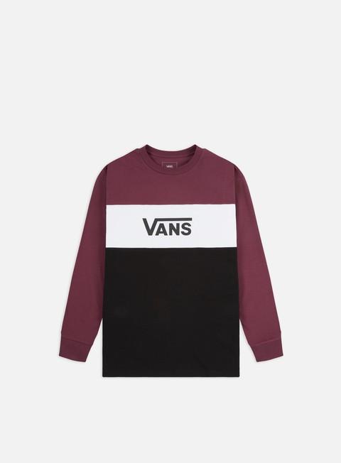 Outlet e Saldi T-shirt a Manica Lunga Vans Retro Active LS T-shirt