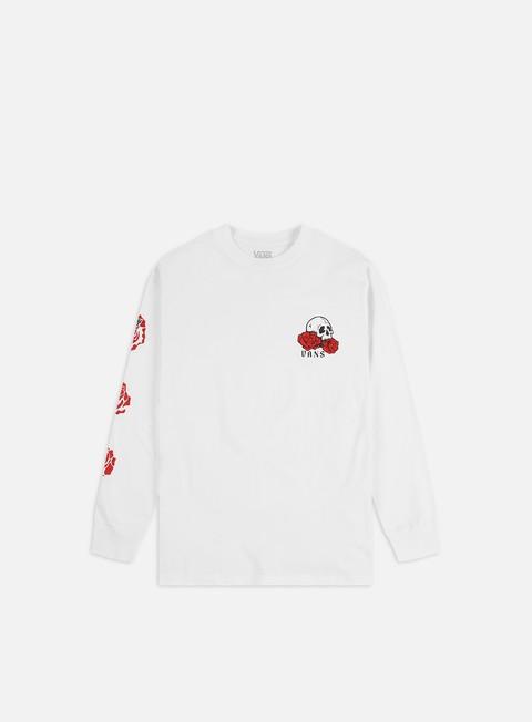 T-shirt a Manica Lunga Vans Rose Bed LS T-shirt