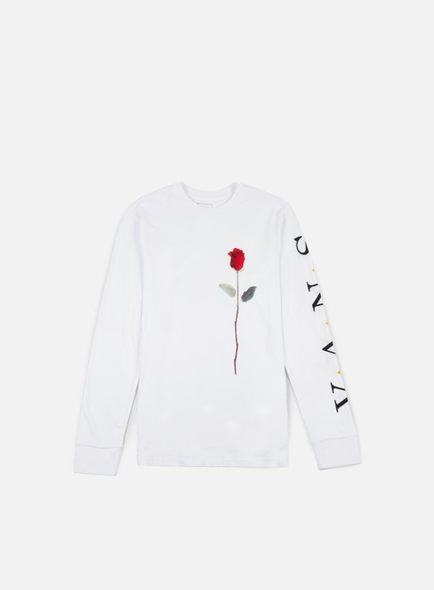 t shirt vans rose pack ls t shirt white