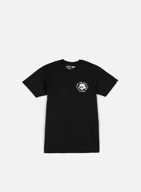 t shirt vans shaved bones t shirt black