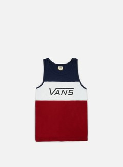Vans - Sibley Tank Top, Dress Blues 1