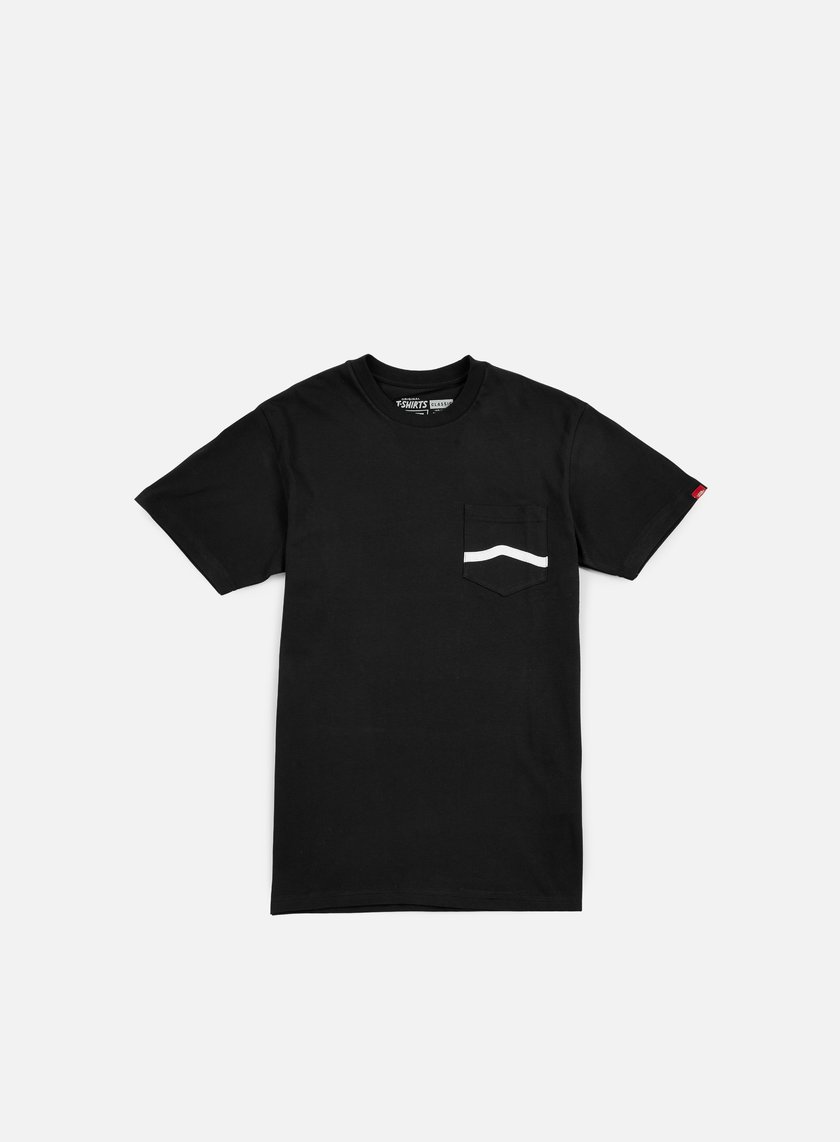 Vans - Side Stripe Pocket T-shirt, Black