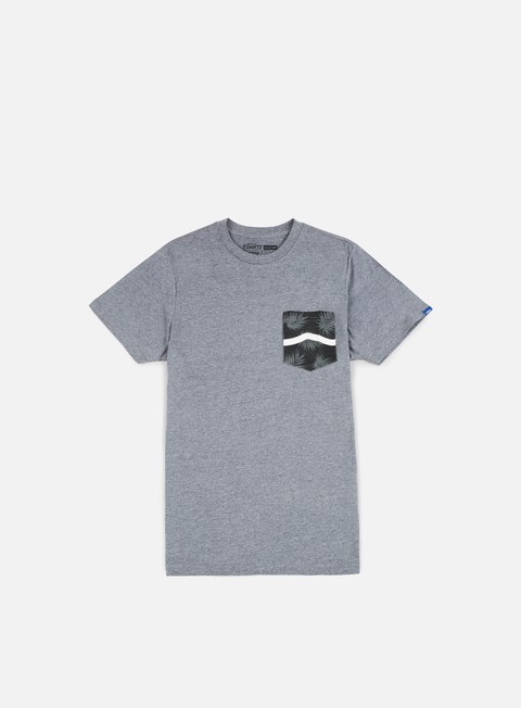 t shirt vans side stripe pocket t shirt heather grey tonal palm