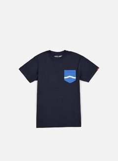 Vans - Side Stripe Pocket T-shirt, Navy 1