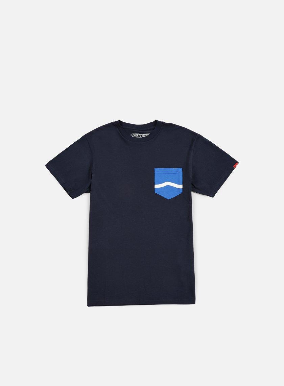 Vans - Side Stripe Pocket T-shirt, Navy