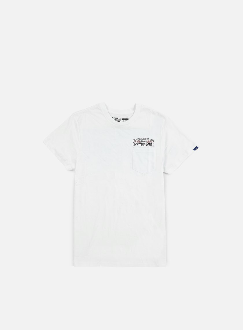 Vans - Since 66 Pocket T-shirt, White