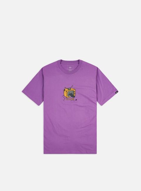 Outlet e Saldi T-shirt a Manica Corta Vans Skate TV T-shirt