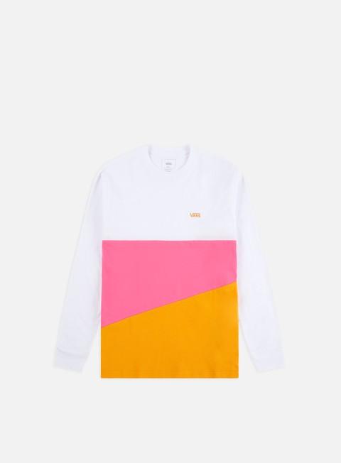 Outlet e Saldi T-shirt a Manica Lunga Vans Sliced Up LS T-shirt