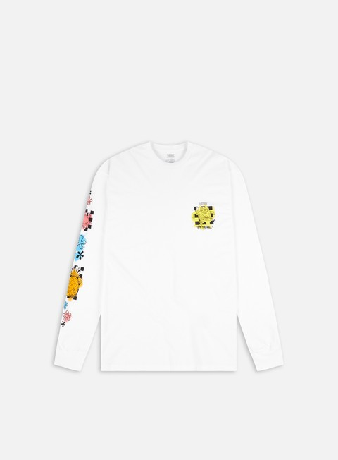 Long Sleeve T-shirts Vans SpongeBob Airbrush LS T-shirt