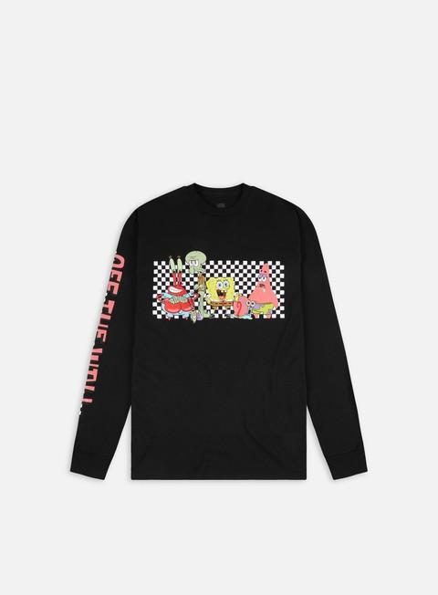 Long Sleeve T-shirts Vans SpongeBob Character LS T-shirt