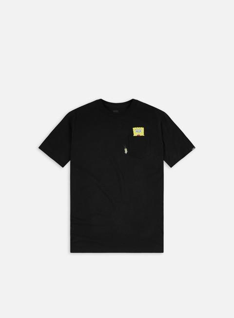 Short Sleeve T-shirts Vans SpongeBob Spotlight Pocket T-shirt