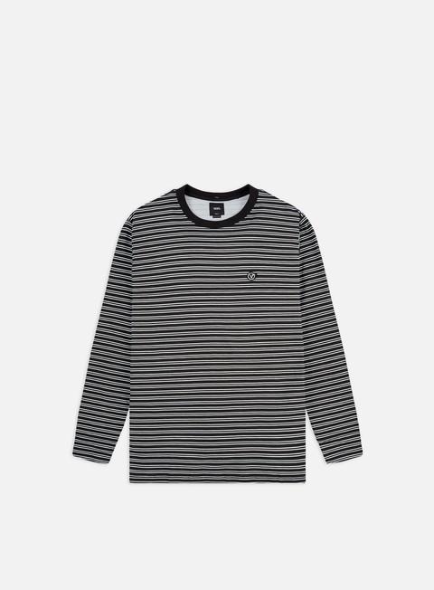 Outlet e Saldi T-shirt a Manica Lunga Vans Striped LS T-shirt
